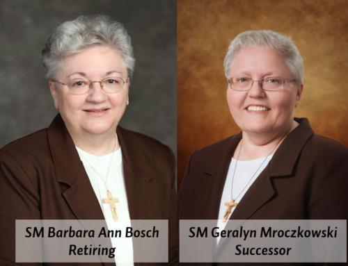 SM Barbara Ann Bosch to retire as CEO; SM Geralyn Mroczkowksi appointed successor